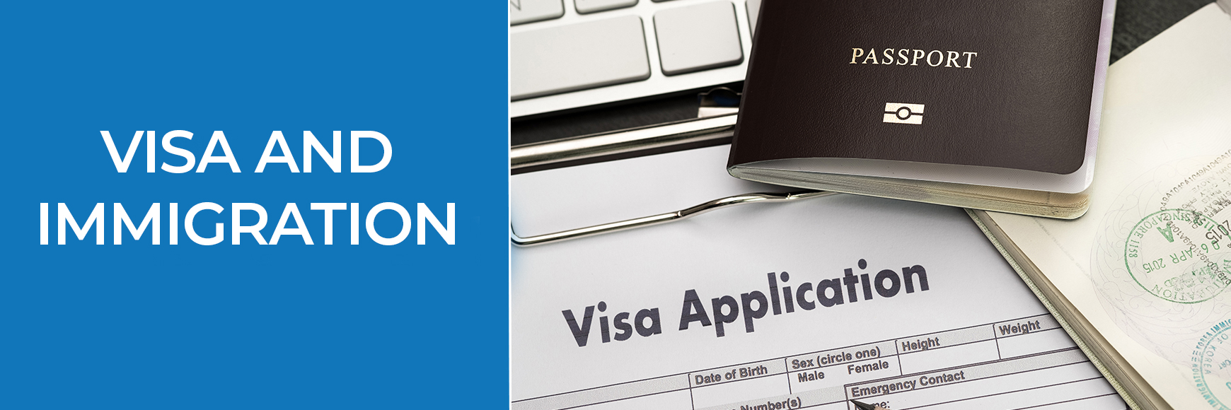Visa and Inmigration Banner - Orlando Homes Sales